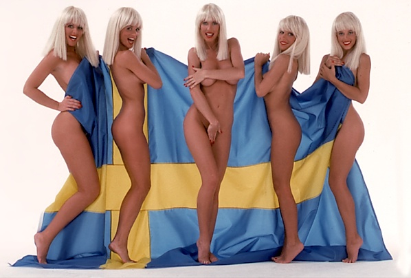 ... but I never heard anything about the Swedish Bikini Team before!