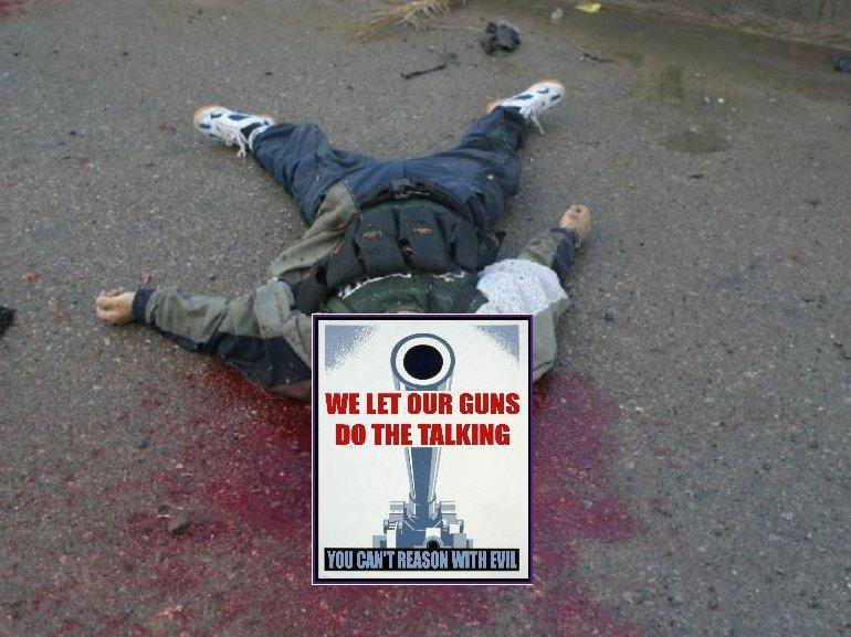 Terrorist after sniper