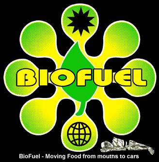 Biofuel slogan